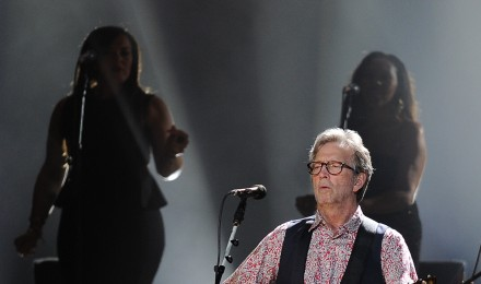 Eric Clapton Using His Guitar To Do a Lot of Good